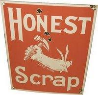 honest scrap by neha silam